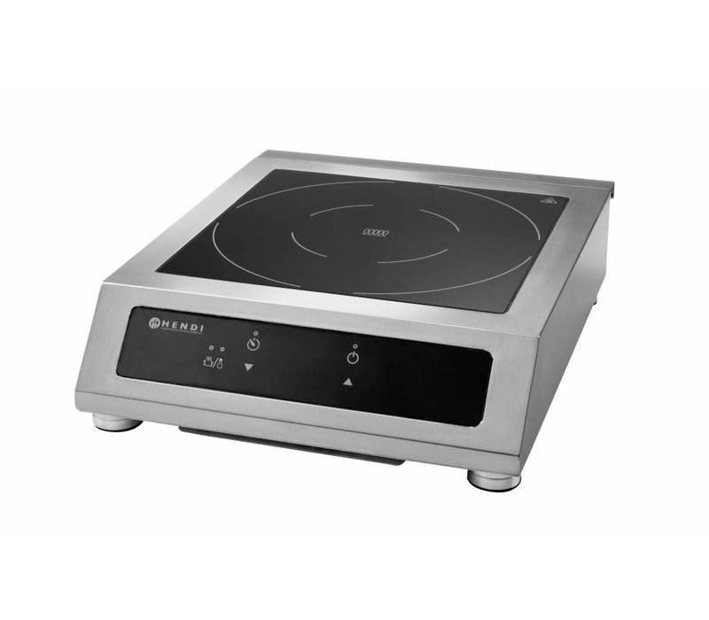 hendi induction cooker 3500w model d xl 390x500x120 h mm