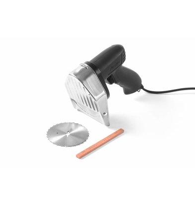 Hendi Kebabsmes Elektrisch | Kitchen Line | 230V | Incl. 1 Glad en 1 Gekarteld Mes