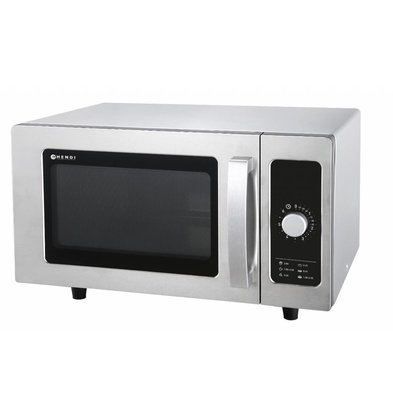 Hendi Microwave Analog | 25 Liter | 1500W | 511x432x311 (h) mm