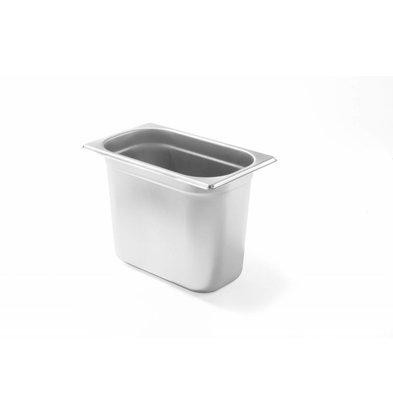 Hendi Gastronorm- Bak 1/4 - 100 mm | 2,8 Liter