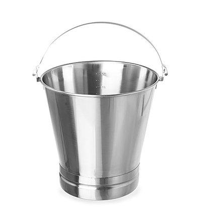 Hendi Emmer met Versterkte Voet | 7 Liter | Ø230x245(h)mm