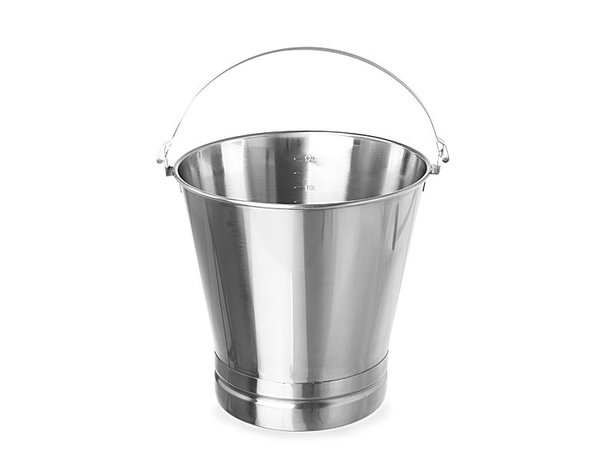 Hendi Eimer mit Enhanced Basis | 15 Liter | Ø305x310 (h) mm