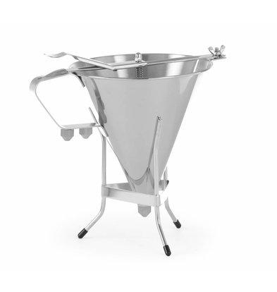 Hendi Fondanttrechter Kitchen Line | 1,5 Liter | 270x195x270 (h) mm