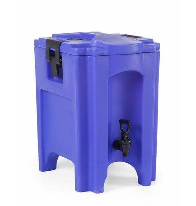 Hendi Getränkespender isoliert | 20L | Einbauablassventil | 460x300x480 (h) mm