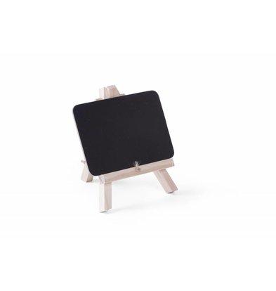 Hendi Tafelkrijtbord met Standaard | 148x97mm | per 2 Stuks