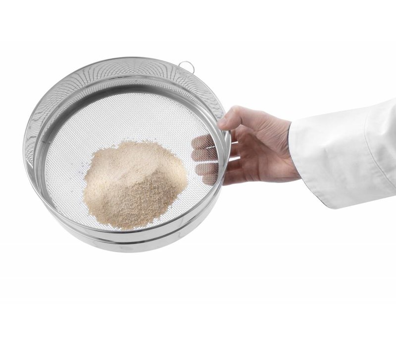 Hendi Baker Sieve mit Aufhängeöse | für Paniermehl | Ø407mm