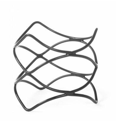 Hendi Anti-Rutsch-Standard-Display | Stahl mit PVC-Beschichtung | Ø200x100 (h) mm