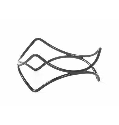 Hendi Anti-Rutsch-Standard-Display | Stahl mit PVC-Beschichtung | Ø200x200 (h) mm