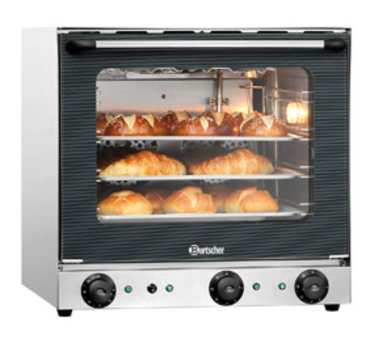 Bartscher Convection oven AT120 with grill and humidification - for 4x 438x315 mm