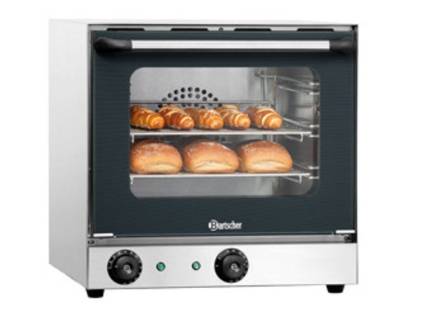 Bartscher Convection oven AT110 - 460x570x460 (h) mm - incl. 3 x 1/2 GN grids