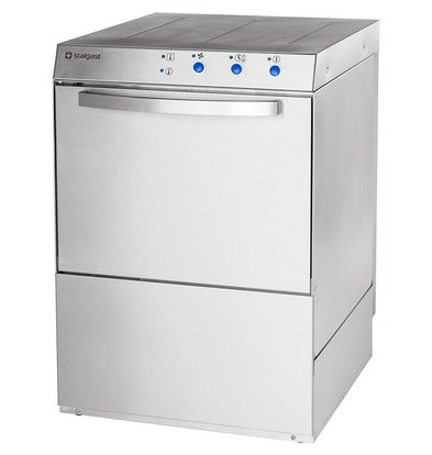 XXLselect Dishwasher Professionel | 50x50cm | Naglans dispenser | 230V | MADE IN EUROPE