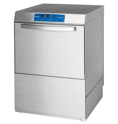 XXLselect Geschirrspüler Leistung | DIGITAL | 50x50cm | Spülen + Seifenspender + Pumpe + Wasserdruckpumpe ablassen | 400V | MADE IN EUROPE