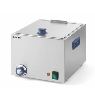 Hendi Wurstwärmer Nur 10 Liter - 1000W - ohne Ablasshahn - 360x270 (H) 265mm