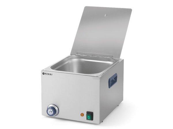 Hendi Worstenwarmer Enkel 10 Liter - 1000W - Zonder Aftapkraan - 360x270(H)265mm