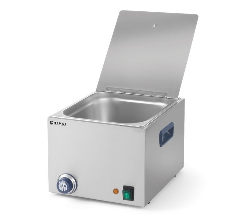 Hendi Sausage Warmer Only 10 Liter - 1000W - Without drain tap - 360x270 (H) 265mm