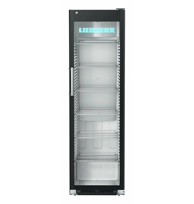 Liebherr Display Refrigerator Black Stainless Steel Glass Door | Liebherr | 449 Liter | FKDv 4523 | 600x696x (H) 2027mm