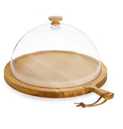 Boska Cheese board with Oak Stolp XL | 'Friends' | Ø565x310mm