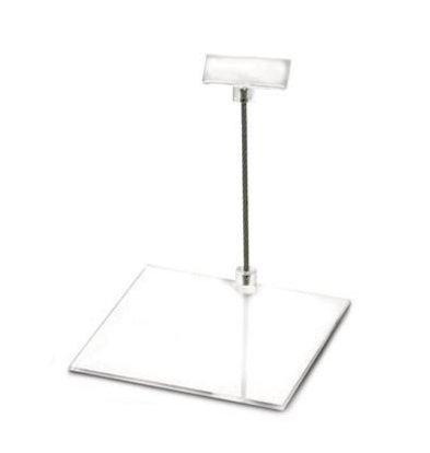 Boska Preis Halter Perspex M | 100x100x100 (h) mm | Pro 10 Stücke