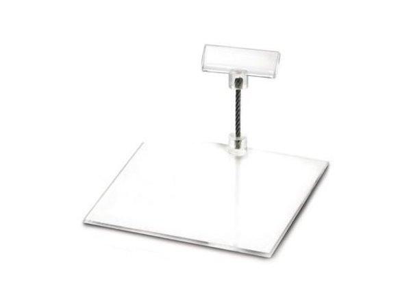 Boska Preis Halter Perspex S   100x100x50 (h) mm   Pro 10 Stücke