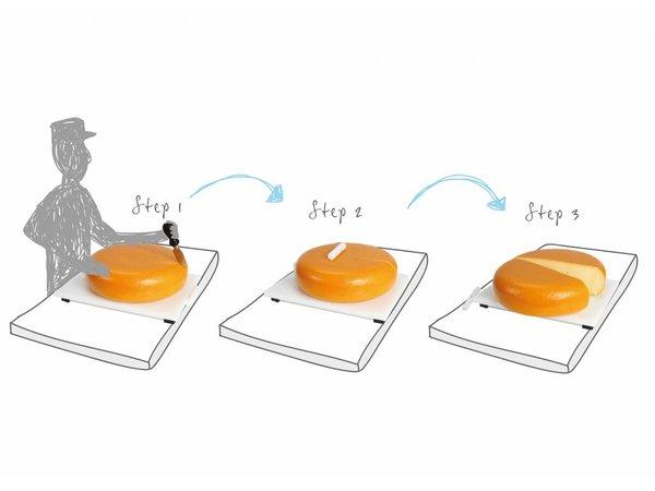 Boska Käse-O-Matic Plastics | Inkl. Gegenhaken | 470x350x53 (h) mm