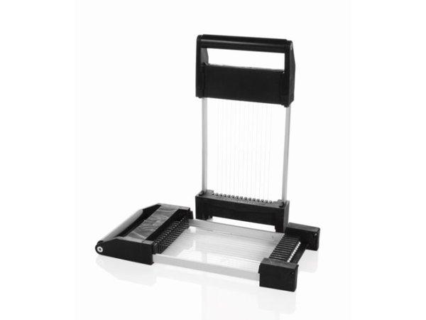 Boska Schneiden Sie Fenster 8mm für Käse Cuber | 370x175x30mm | Set aus 2
