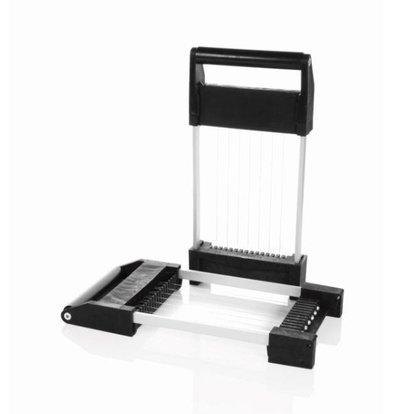 Boska Schneiden Sie Fenster 16mm für Käse Cuber | 370x175x30mm | Set aus 2