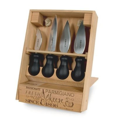 Boska Parmesan Knife | Cheesemongers | 4 Blades + Carrying case
