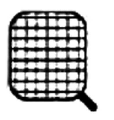 Diamond Basket for pasta cooker, side handle
