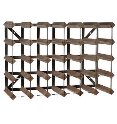 Bar Professional Weinregal 30 Flaschen - 61,2 x 22,8 x (H) 42 cm - Holz / Metall