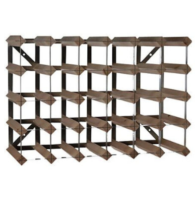 Bar Professional Wine Rack 30 bottles - 61.2 x 22.8 x (H) 42cm - Wood / Metal