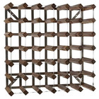 XXLselect Wine rack 42 bottles - 61.2 x 22.8 x (H) 61,2cm - Wood / Metal