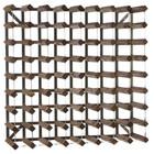 XXLselect Wine Rack 72 bottles - x22,8 x 80.4 (h) 80,4cm - Wood / Metal