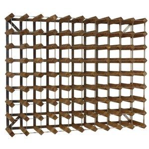 XXLselect Weinregal 90 Flaschen - 99,6 x 22,8 x (h) 80,5cm - Holz / Metall