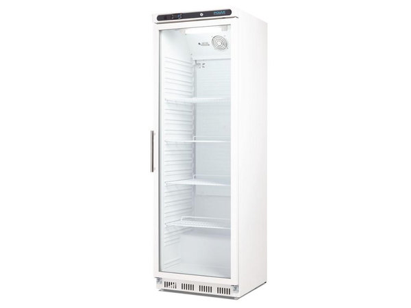 Kühlschrank Glastür : Polar kühlschrank mit glastür beleuchtung display liter