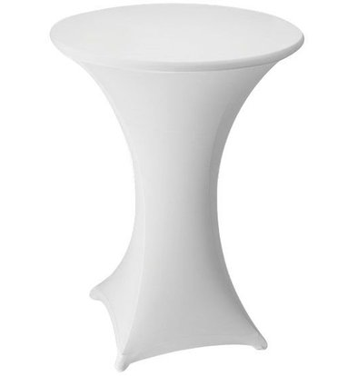 Unicover Table Cover Stretch Venus (Body + Top) | white | Available in 3 sizes