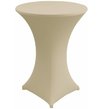 Unicover Table Cover Stretch Venus (Body + Top) | cream | Available in 3 sizes