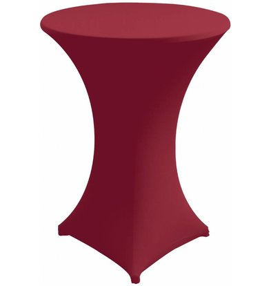 Unicover Table Cover Stretch Venus (Body + Top) | Bordeaux | Available in 3 sizes