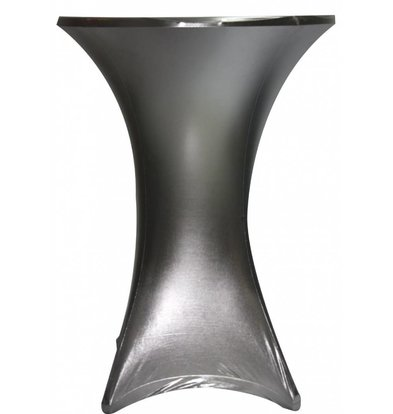 Unicover Tischdecke Stretch Venus (Body + Top) | Silber | Erhältlich in 3 Größen