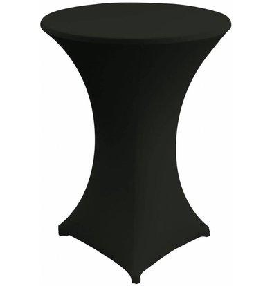 Unicover Cocktailtafelhoes Stretch Venus | Zwart | Beschikbaar in 3 Maten