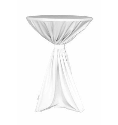 Unicover Tischdecke Jupiter | 100% Polyester | weiß | Erhältlich in 2 Größen