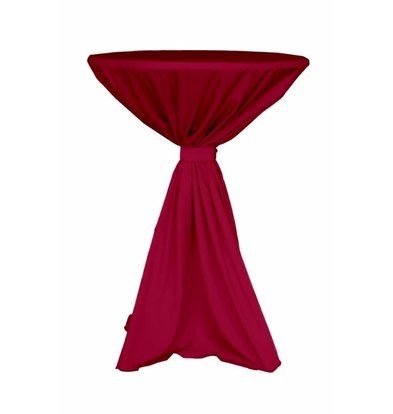 Unicover Table Cover Jupiter | 100% Polyester | Bordeaux | Available in 2 sizes