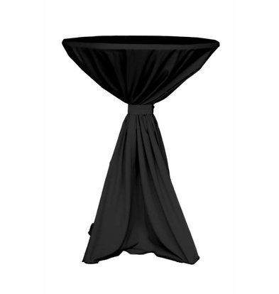 Unicover Tischdecke Jupiter | 100% Polyester | schwarz | Erhältlich in 2 Größen