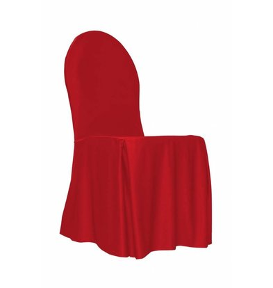Unicover Bankett-Stuhl-Abdeckung | One Size | rot
