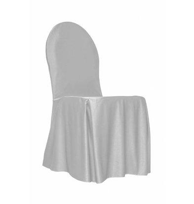 Unicover Bankett-Stuhl-Abdeckung | One Size | weiß