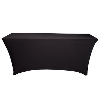 Unicover Table cover Saturn Stretch Rectangle | Available in two sizes | Black