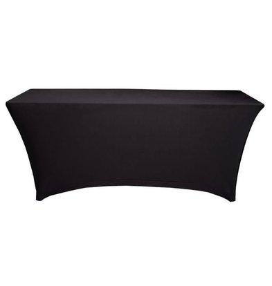 Unicover Tischdecke Saturn Stretch Rechteck | Erhältlich in zwei Größen | schwarz