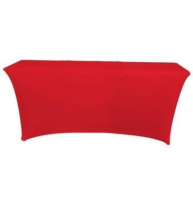 Unicover Tischdecke Saturn Stretch Rechteck | Erhältlich in zwei Größen | rot