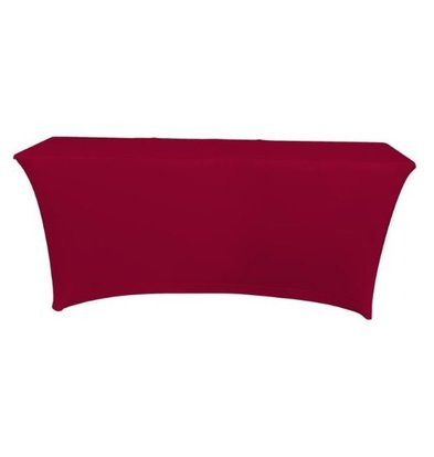 Unicover Table cover Saturn Stretch Rectangle | Available in two sizes | Bordeaux