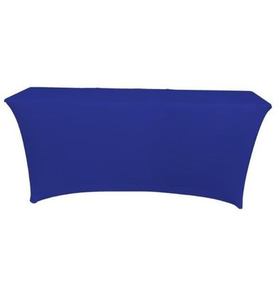 Unicover Table cover Saturn Stretch Rectangle | Available in two sizes | Dark blue