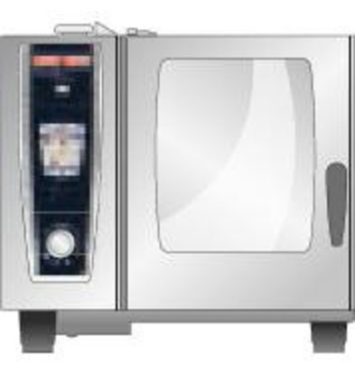 Rational Optie: Linksdraaiende Deur | voor Rational Combisteamers Type 61, 101, 62, 102 en XS 6 2/3